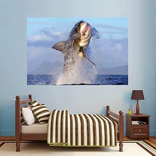 Great White Shark - Breaching