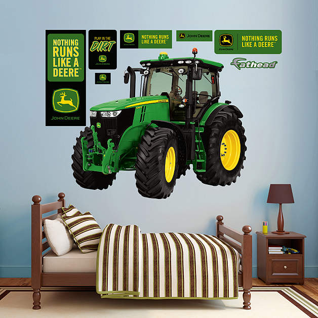 John Deere Wall Decor : John deere tractor wall decor car interior design