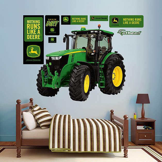 John Deere Wall Decor : John deere tractor wall decor car interior design