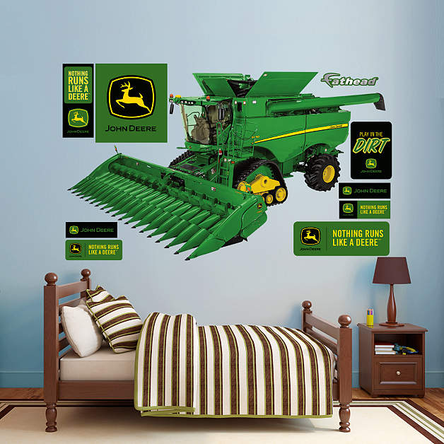John Deere S690 Combine Wall Decal Shop Fathead For