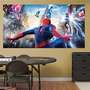 The Amazing Spider-Man 2 Battle Mural