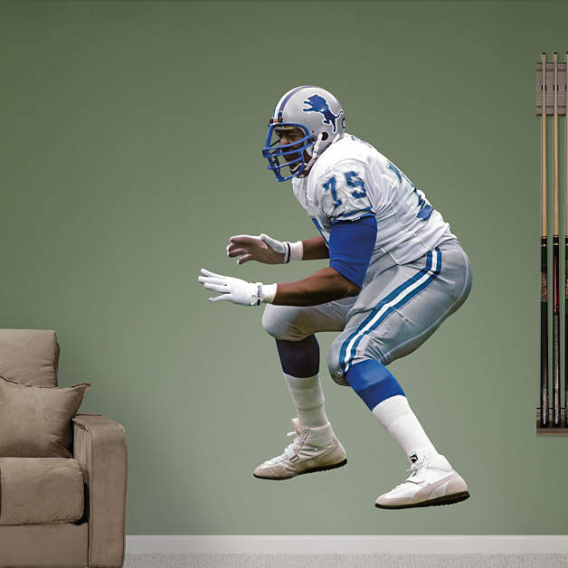 Life Size Lomas Brown Wall Decal Shop Fathead For