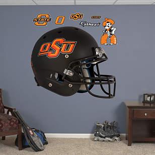 Oklahoma State Cowboys Black Helmet