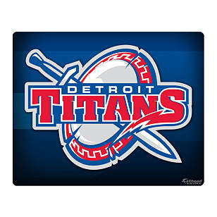 Detroit Mercy Titans Logo 15/16