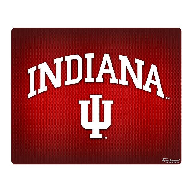 """Indiana HOOSIERS Logo 17"""" Laptop Skin - Indiana HOOSIERS - College ..."""