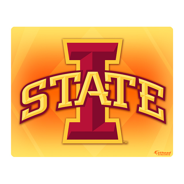 "IOWA STATE Cyclones Logo 17"" Laptop Skin - IOWA STATE Cyclones ..."