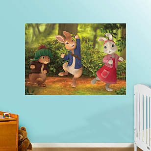 Peter Rabbit Mural