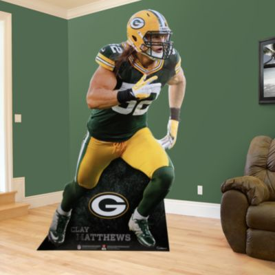 Clay Matthews Life-Size Stand Out