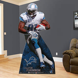 Calvin Johnson Jr. Stand Out