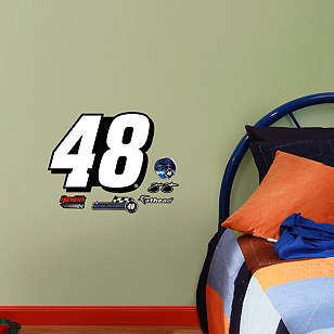 Jimmie Johnson #48 Logo Teammate
