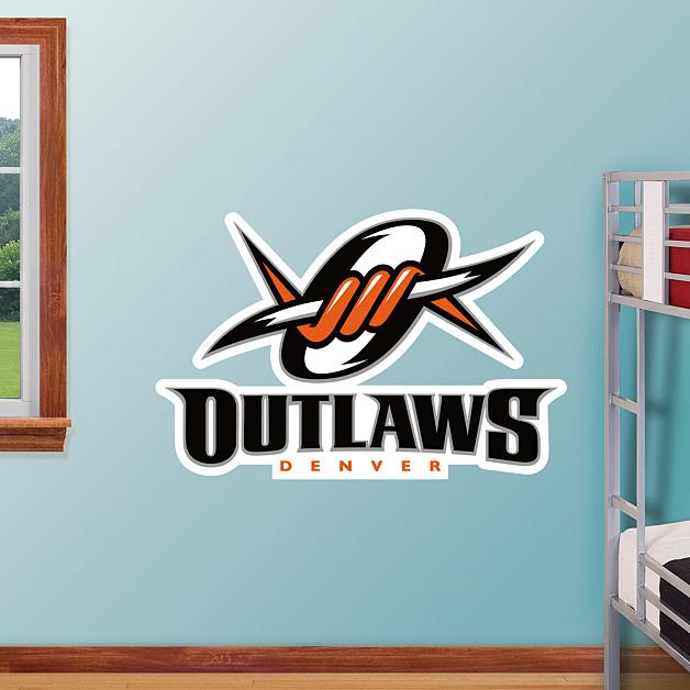 Denver Outlaws Logo Wall Decal
