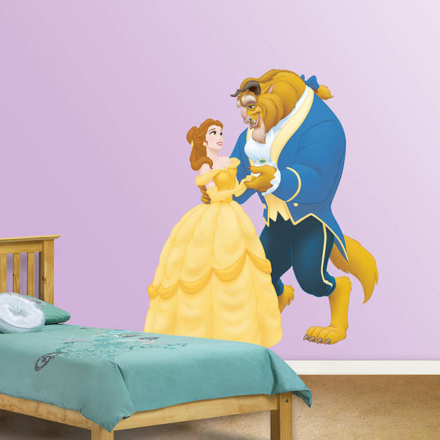 Beauty And The Beast Fathead Wall Decal