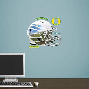 Oregon Ducks White Vapor Helmet Teammate