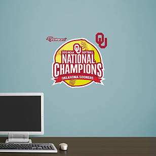 Oklahoma Sooners 2013 NCAA® Women's Softball Champions Teammate