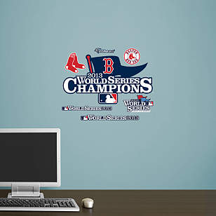 Boston Red Sox - 2013 World Series Champions Teammate Logo