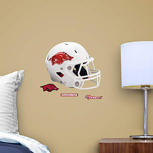 Arkansas Razorbacks Teammate White Helmet