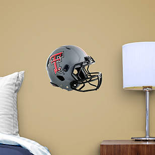 Texas Tech Red Raiders Teammate Gray Helmet