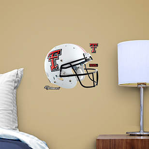 Texas Tech Red Raiders Teammate White Helmet