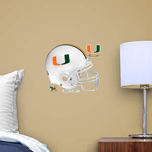 Miami Hurricanes Teammate Helmet