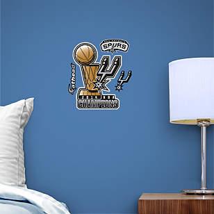 San Antonio Spurs 2014 NBA Champions Teammate Logo