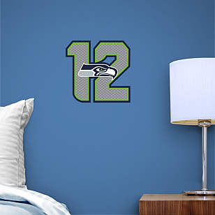 Seattle Seahawks 12 Logo Teammate