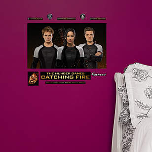 The Hunger Games: Catching Fire Tributes Mural Fathead Jr