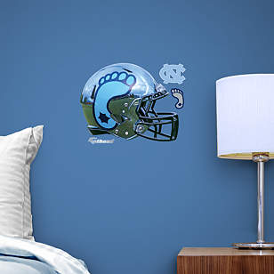North Carolina Tar Heels Chrome Helmet Teammate