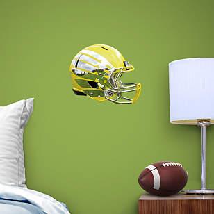 Oregon Ducks Liquid Lighting Yellow Helmet Teammate