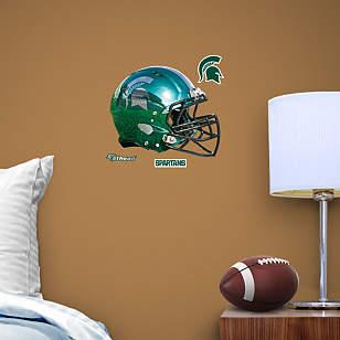 Michigan State Spartans Chrome Helmet Teammate