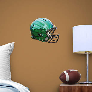 Oregon Ducks Liquid Thunder Green Helmet Teammate