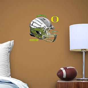 Oregon Ducks Liquid Carbon Helmet Teammate