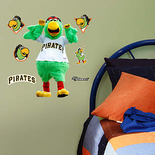 Pittsburgh Pirates Mascot - Pirate Parrot Teammate