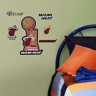 Miami Heat 2013 Champions Teammate Logo