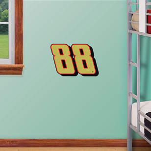 Dale Earnhardt Jr. Gold #88 Teammate Logo