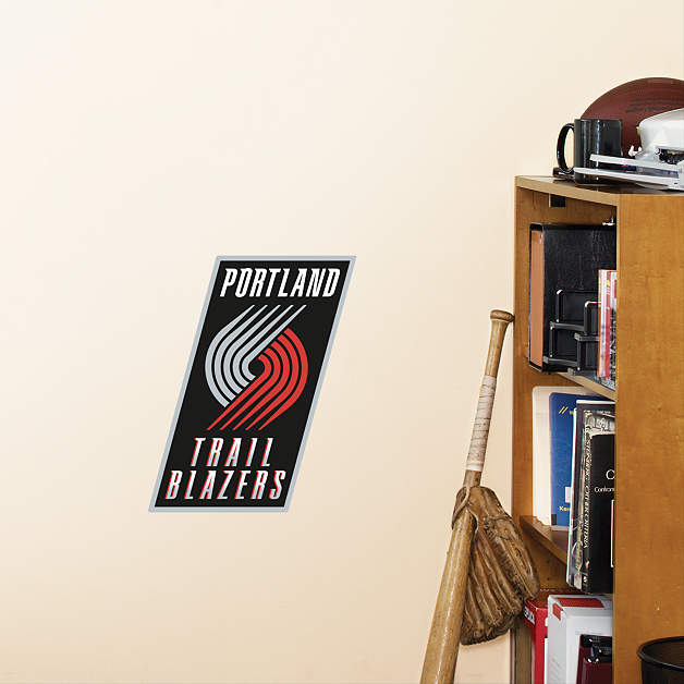 Portland Blazers 27: Small Portland Trail Blazers Teammate Decal