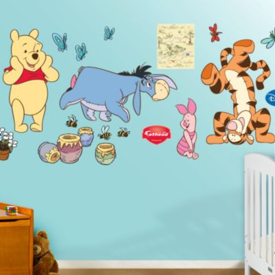 Winnie the Pooh Collection Fathead Wall Decal