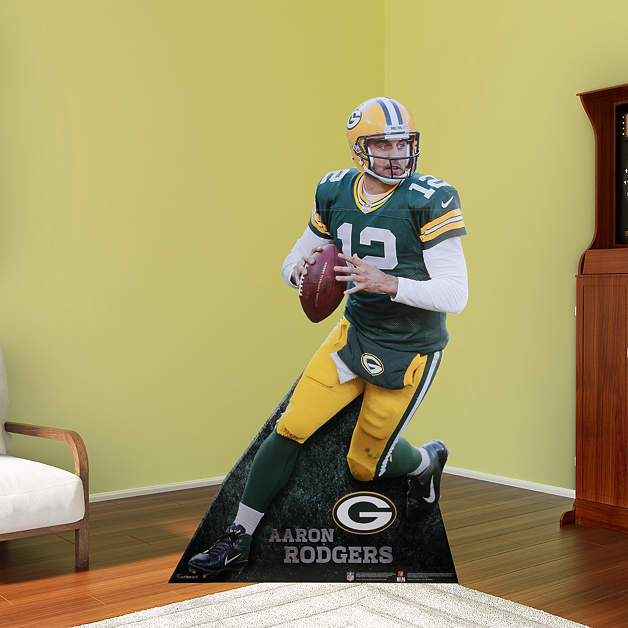 Aaron Rodgers Fathead Stand Out Standee