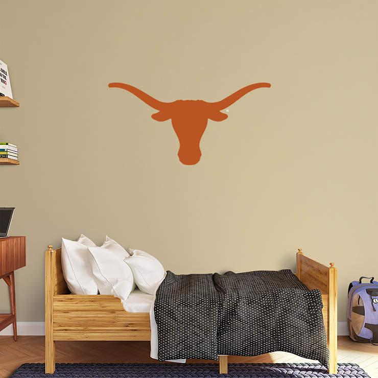 Longhorns Logo Wall Decal Shop Fathead For Texas Longhorns Decor