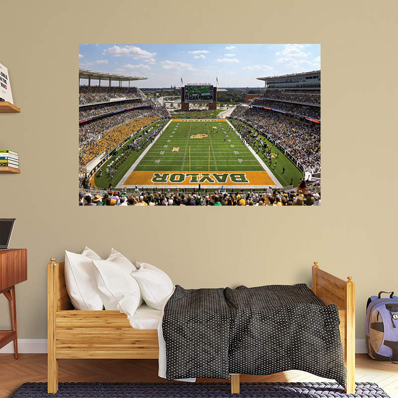 Shop baylor bears wall decals graphics fathead college for Belly button bears wall mural