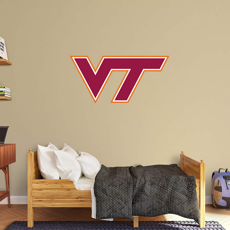 3ds Max Virginia Hokie Man Cave: Virginia Tech Mascot - HokieBird Wall Decal