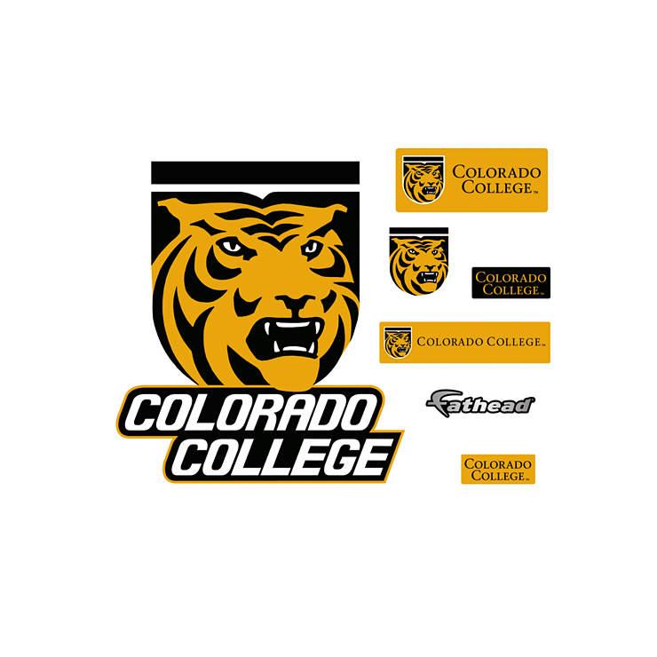 Colorado College Tigers Logo Wall Decal