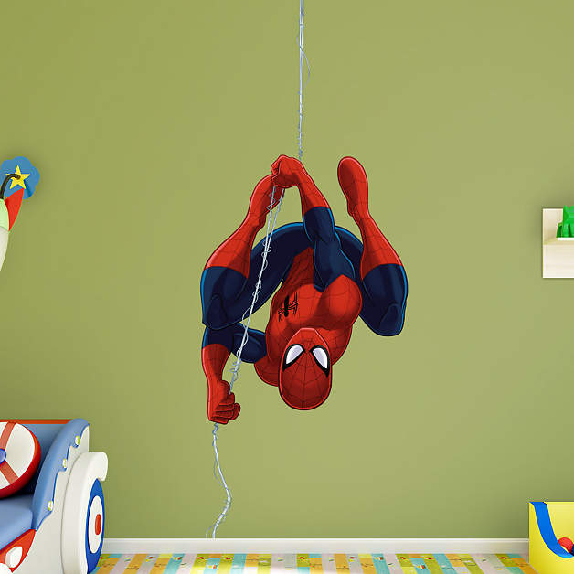 Spider-Man Fathead wall decals