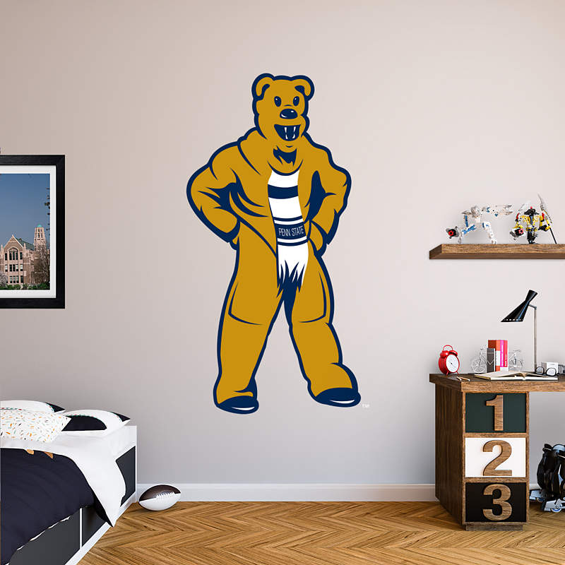 Shop penn state nittany lions wall decals graphics for Beaver stadium wall mural