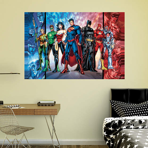 Fathead wall decals of the Avengers