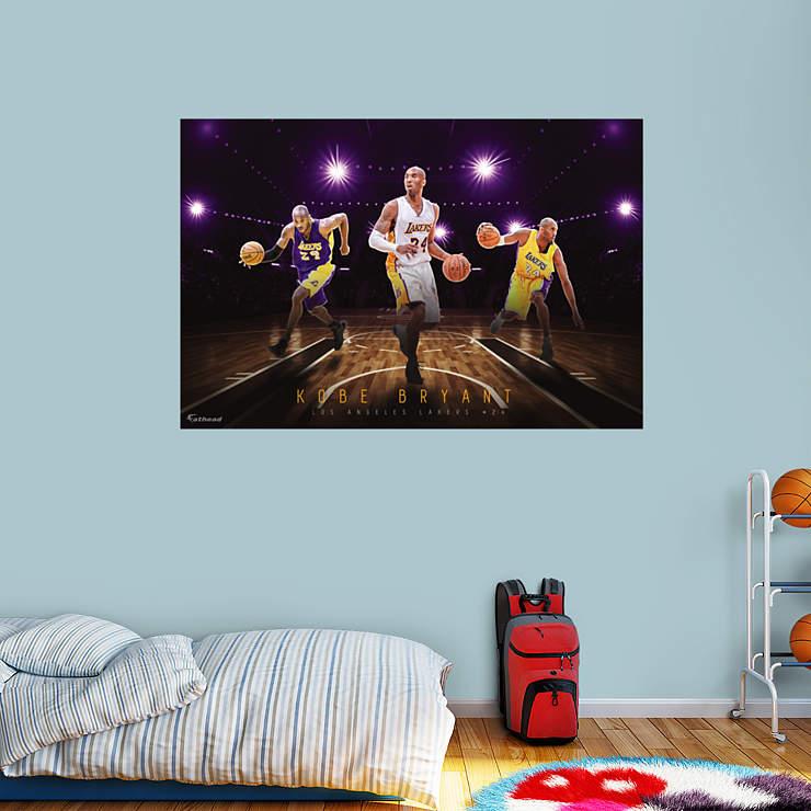 Http Www Fathead Com Nba Los Angeles Lakers Kobe Bryant Montage Wall Mural