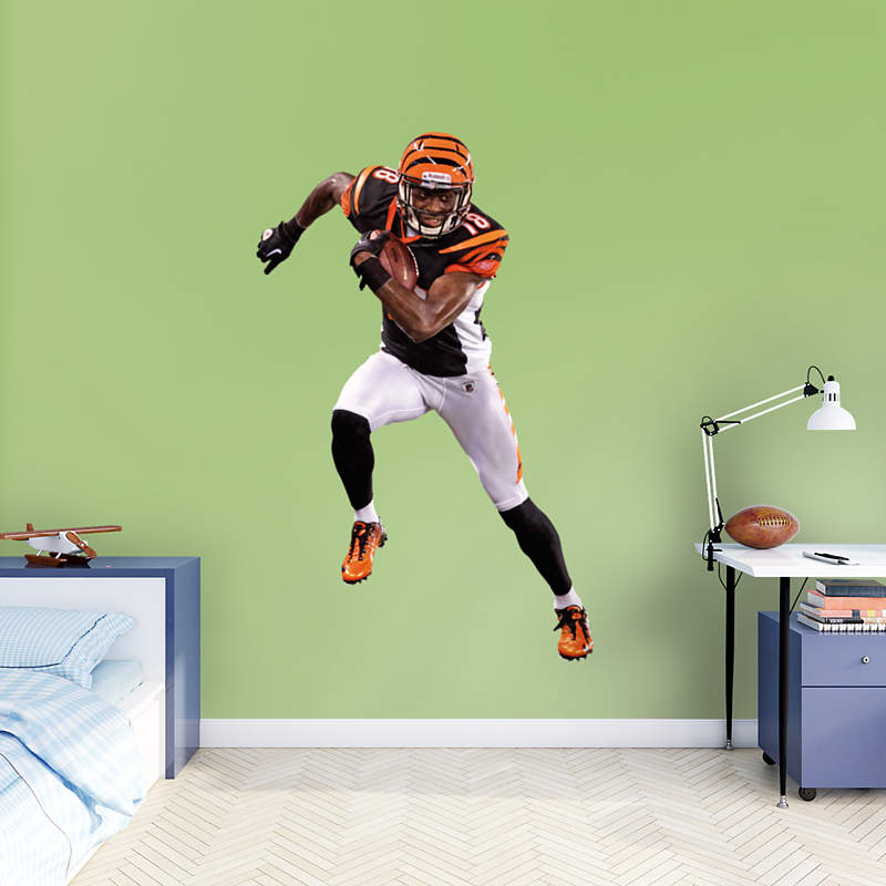Shop bengals wall decals graphics fathead nfl for Bengalas 50 cm