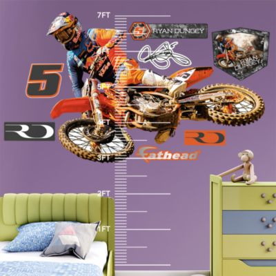 Blistering Bronco Fathead Wall Decal