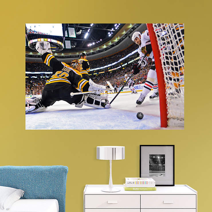 Dave bolland 2013 stanley cup winning goal mural wall for Blackhawks mural chicago