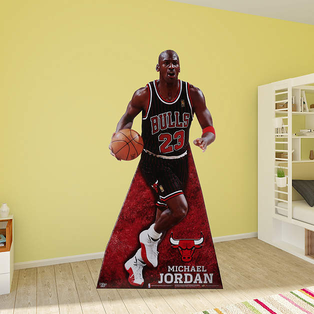 Michael Jordan Stand Out Cut Out