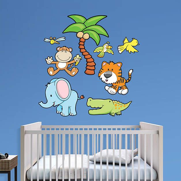 Animal Nursery Wall Decals